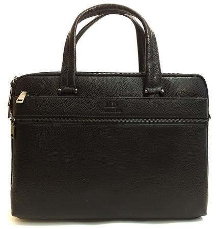 Кожаная сумка MD 1125-1 black