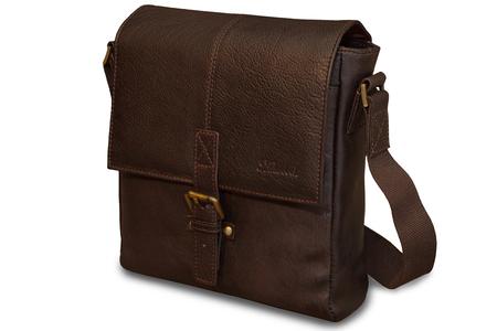 Сумка Ashwood Leather Murphy dark brown