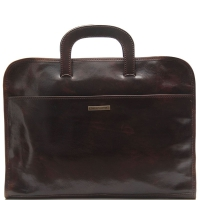 Портфель Tuscany Leather Sorrento Dark Brown