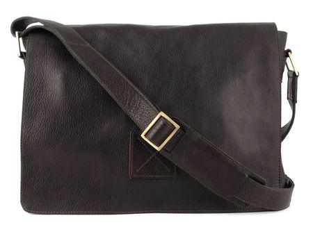 Сумка Ashwood Leather Pedro dark brown