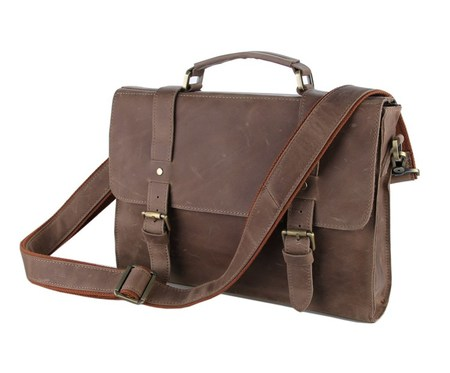 Небольшой кожаный портфель JMD 6076J