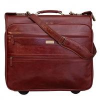 Портплед на колесах Ashwood Leather 63421 cognac