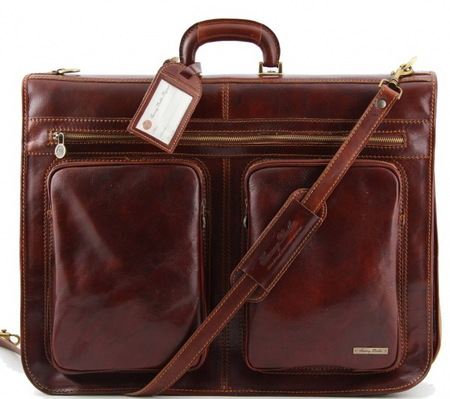 Портплед Tuscany Leather Tahiti TL3030 brown