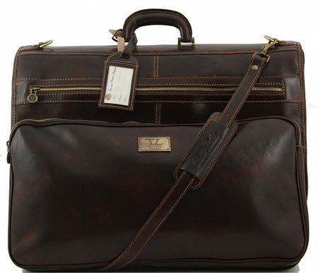 Портплед Tuscany Leather Papeete TL3056 dark brown