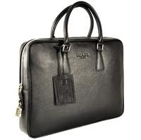 Кожаная сумка P532-5 black