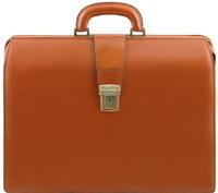 Саквояж-портфель Tuscany Leather Canova TL141347 honey