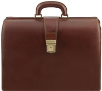 Саквояж-портфель Tuscany Leather Canova TL141347 brown