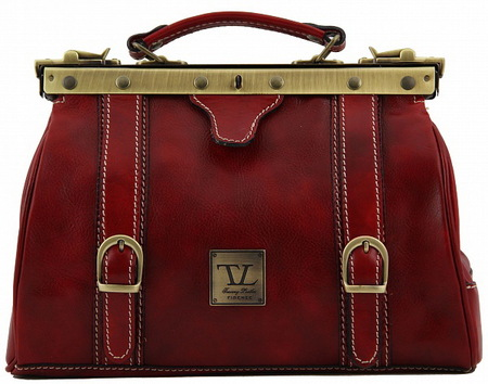 Саквояж Tuscany Leather Mona-Lisa TL10034 red