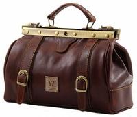 Саквояж Tuscany Leather Mona-Lisa TL10034 dark brown