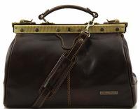 Саквояж Tuscany Leather Michelangelo TL10038 dark brown