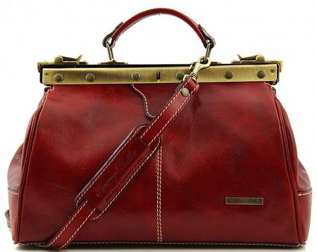 Саквояж Tuscany Leather Michelangelo TL10038 red
