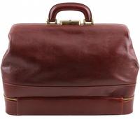 Саквояж  с двойным дном Tuscany Leather Giotto TL141297 honey