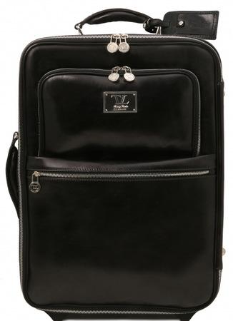 Чемодан Tuscany Leather Voyager TL141390 black
