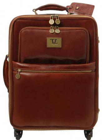 Чемодан Tuscany Leather Voyager TL141390 brown