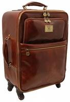 Чемодан Tuscany Leather Voyager TL141390 honey