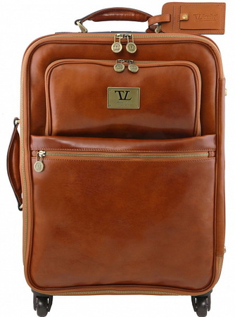 Чемодан Tuscany Leather Voyager TL141390 honey