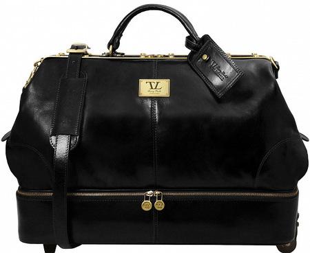Саквояж на колесах Tuscany Leather Siviglia TL141451 black