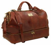 Саквояж на колесах Tuscany Leather Siviglia TL141451 brown