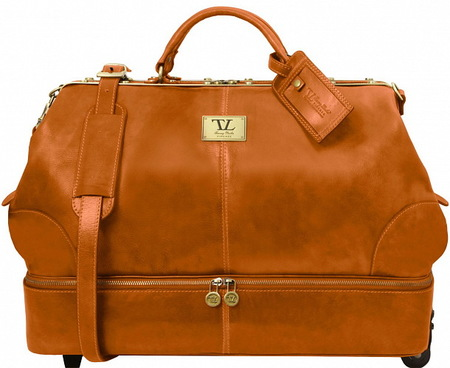 Саквояж на колесах Tuscany Leather Siviglia TL141451 honey