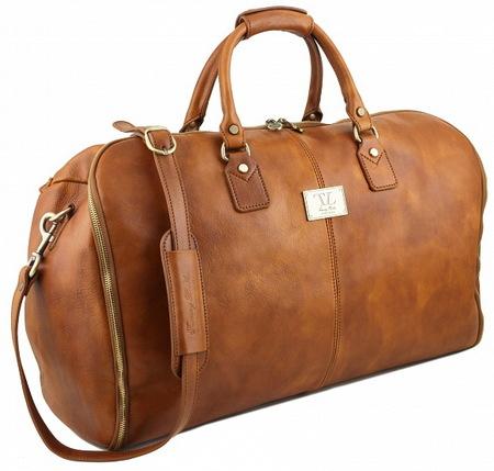Дорожная сумка-портплед Tuscany Leather Antigua TL141538 sand