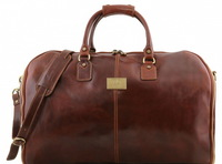 Дорожная сумка-портплед Tuscany Leather Antigua TL141538 brown