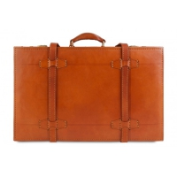 Кожаный чемодан Ashwood leather VIN-018 Vintage Tan