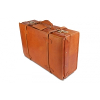 Кожаный чемодан Ashwood leather VIN-022 Vintage Tan