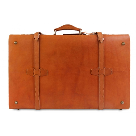 Кожаный чемодан Ashwood leather VIN-022 Vintage Tan