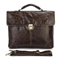 Кожаный портфель JMD 7091Q
